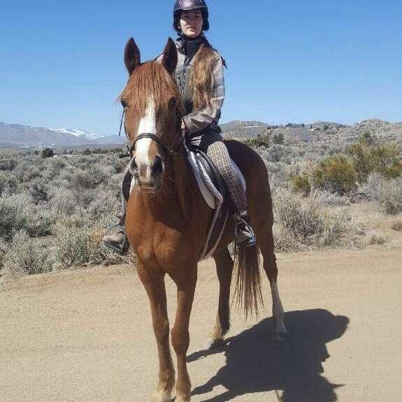 Irina Mityugova Riding