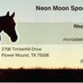 Neon Moon Sport Horses  Flower Mound Equestrian Ce
