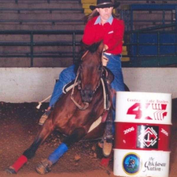 Trademark Barrel Horses