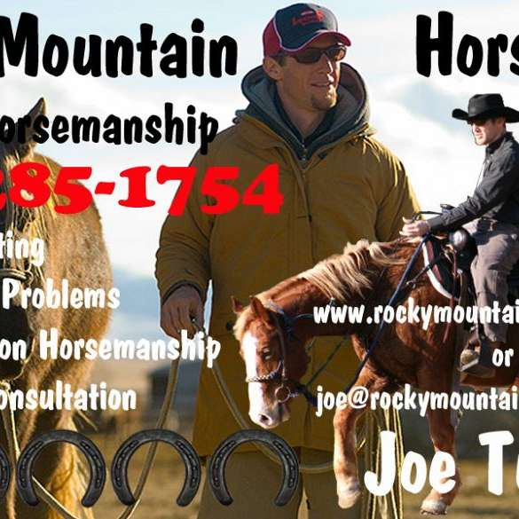 Rocky Mountain Horseman