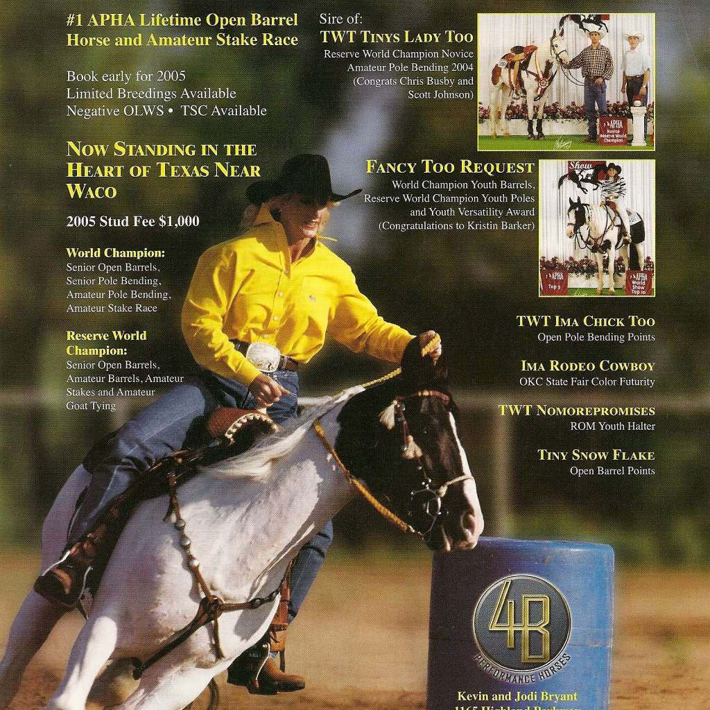 4B Performance Horses