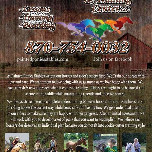 Painted Ponies stables and Training Center LLC
