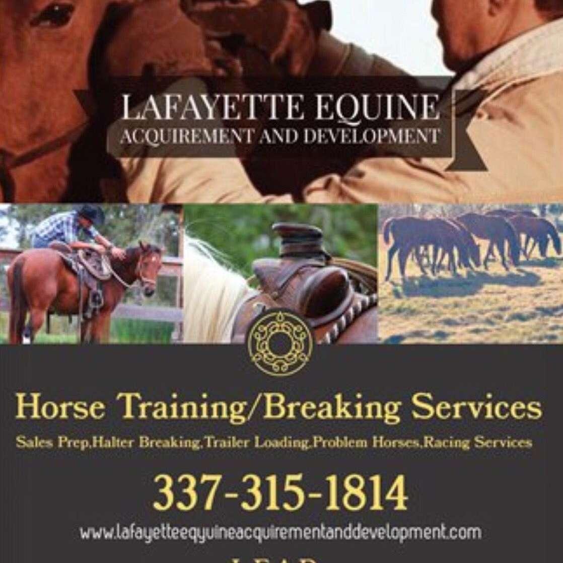Lafayette Equine Acquirement and Development