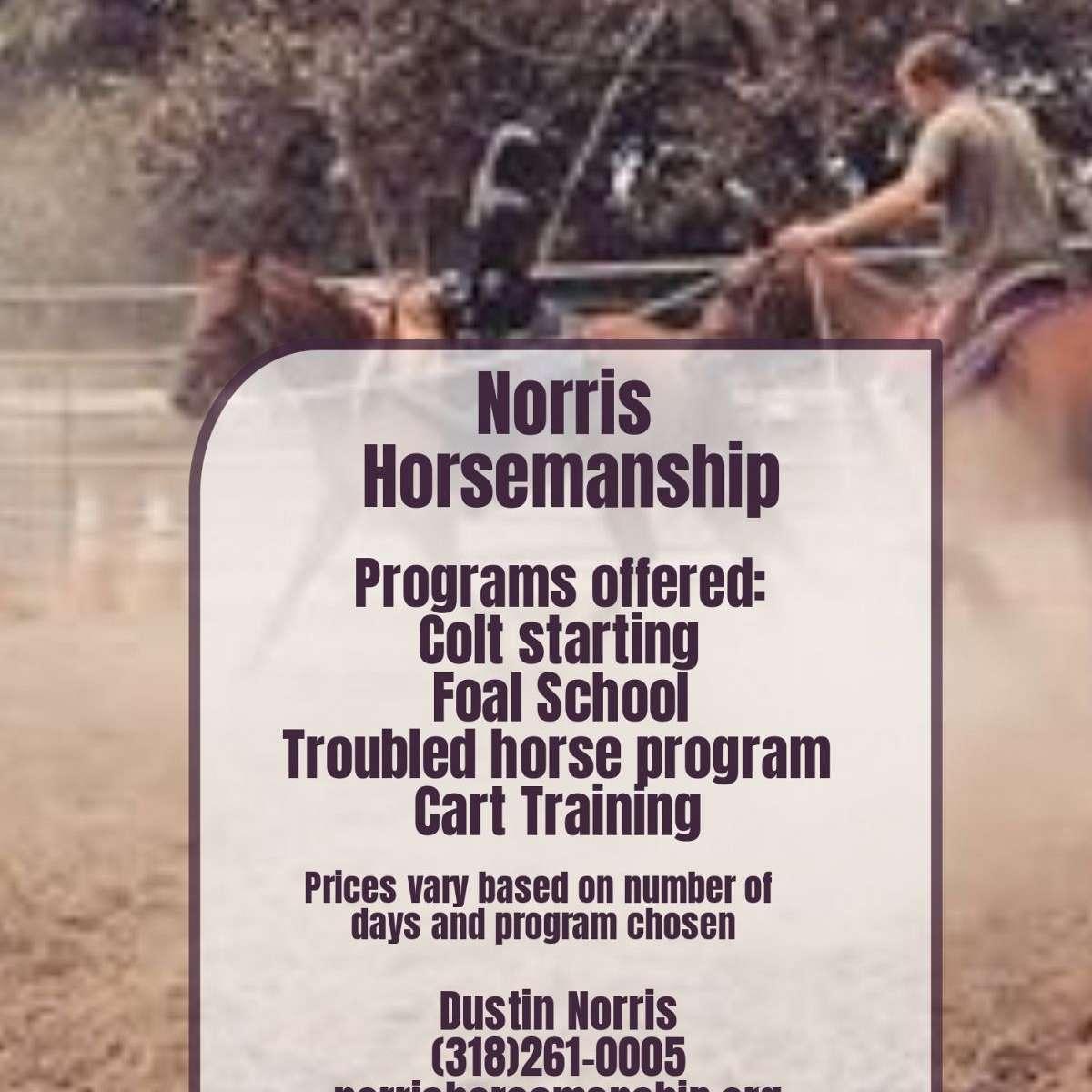 Norris Horsemanship