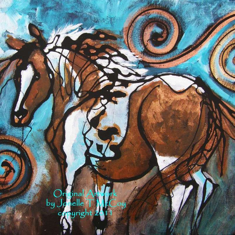 McCoy's Gaited Horse Artworks