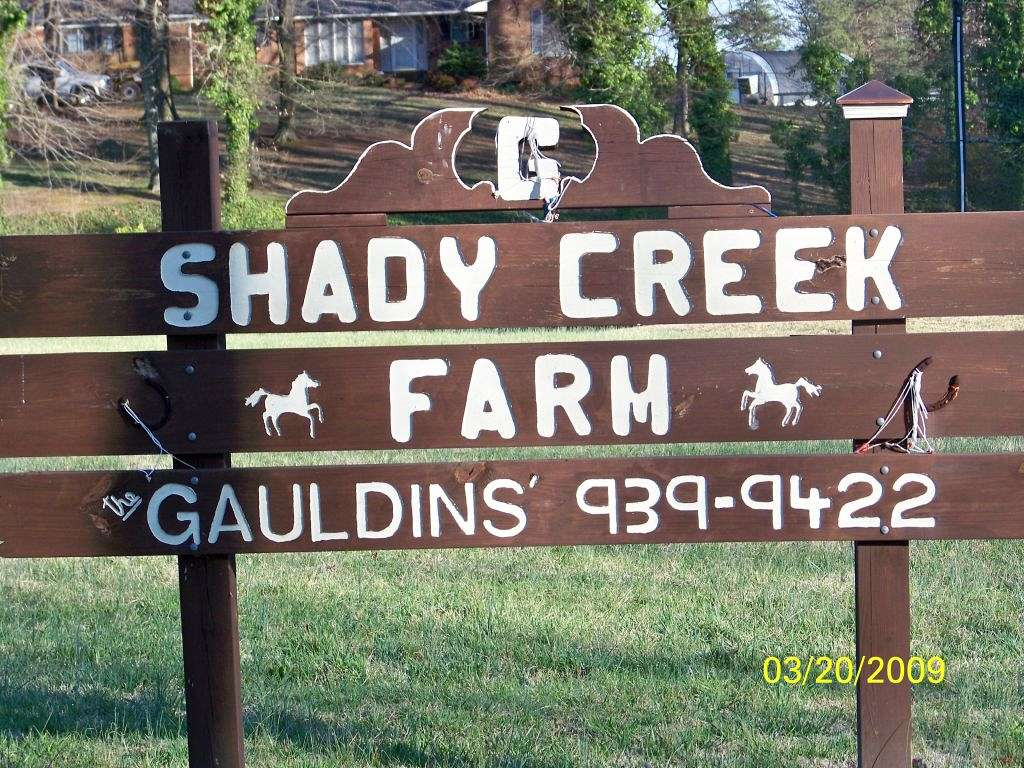 Shady Creek Farm On Equinenow